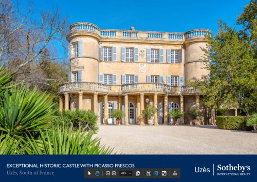 International catalogues - Achat immobilier d'exception Languedoc Roussillon